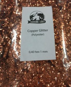 copper glitter 0,40hex 1mm